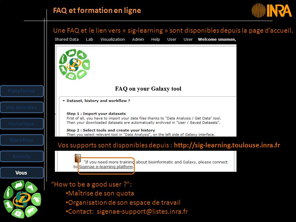 FAQ et formation en ligne
