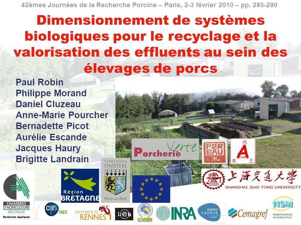 42èmes Journées de la Recherche Porcine – Paris, 2-3 février 2010 – pp