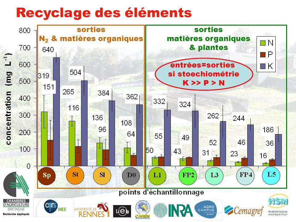 N2 & matières organiques