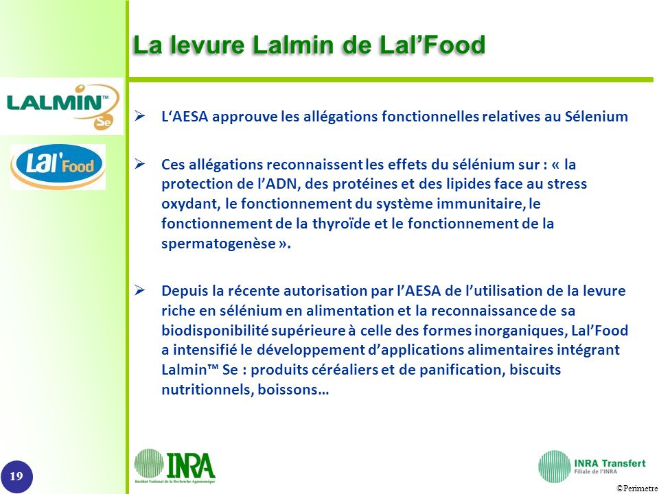 La levure Lalmin de Lal'Food