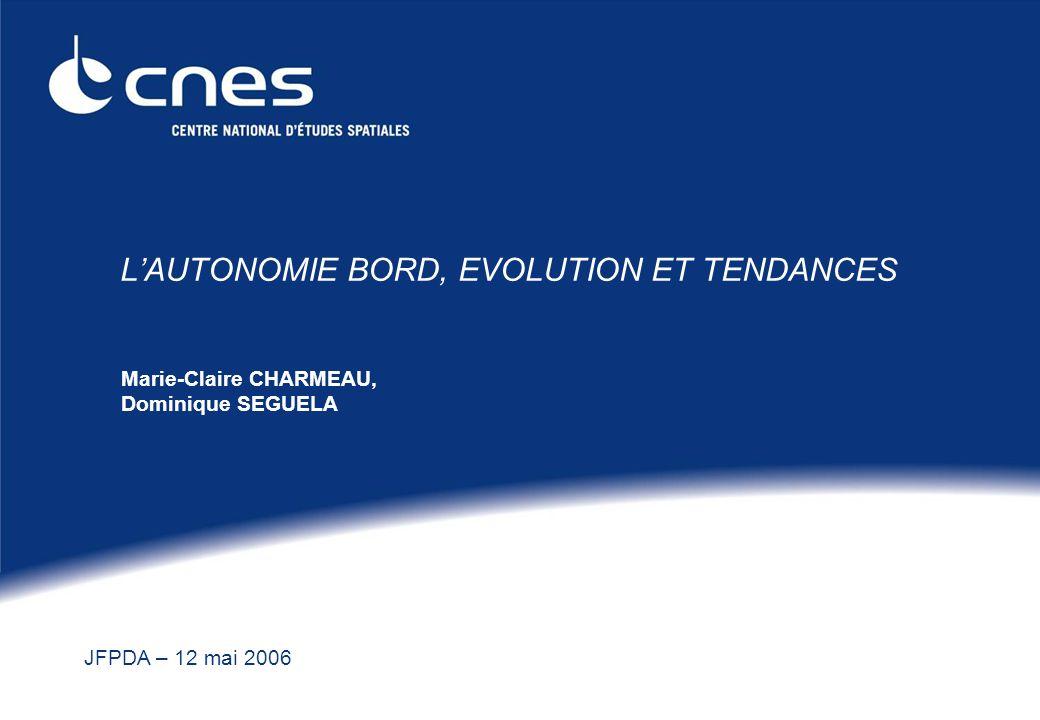 L'AUTONOMIE BORD, EVOLUTION ET TENDANCES