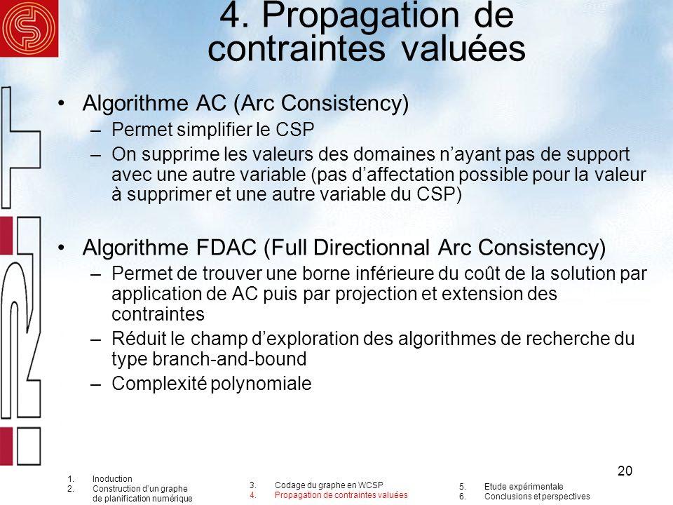 4. Propagation de contraintes valuées
