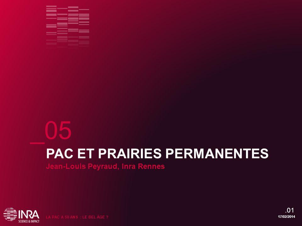 _05 PAC ET PRAIRIES PERMANENTES Jean-Louis Peyraud, Inra Rennes