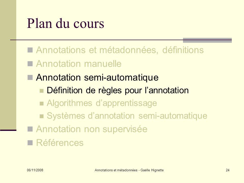 Annotations et métadonnées - Gaëlle Hignette