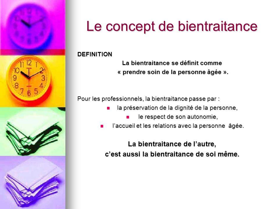 Le concept de bientraitance