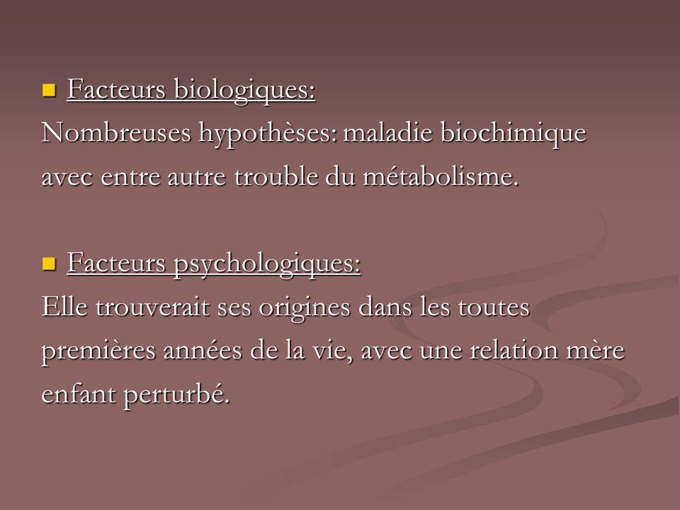 Facteurs biologiques:
