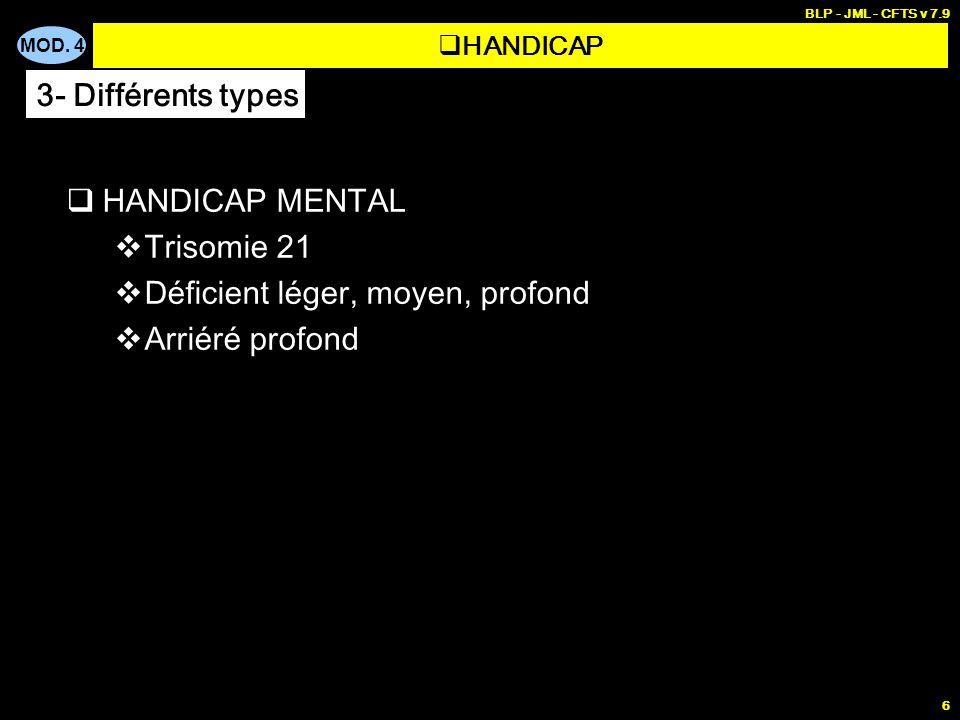 PERSONNES DEPENDANTES 1 - Handicap