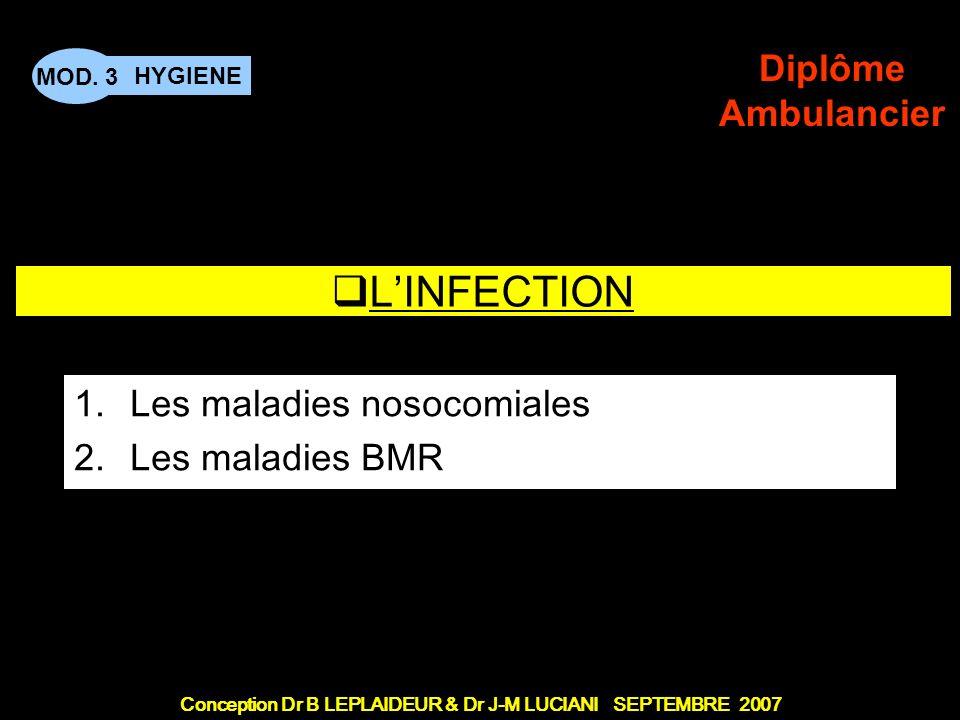Les maladies nosocomiales Les maladies BMR
