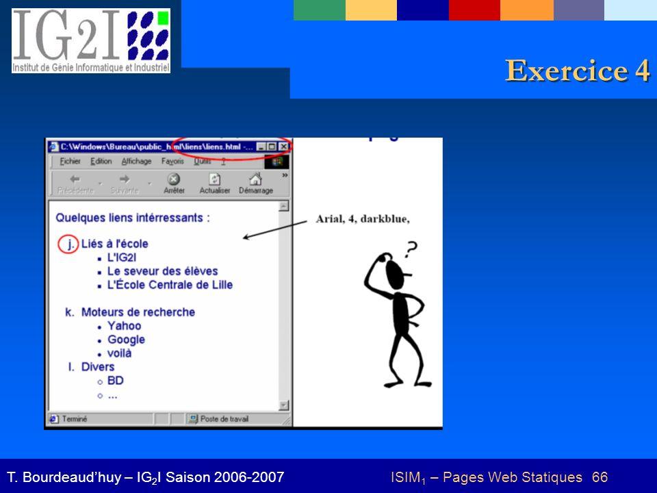 ISIM1 – Pages Web Statiques 66