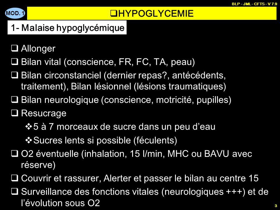 PREMIERES URGENCES 3 - Coma