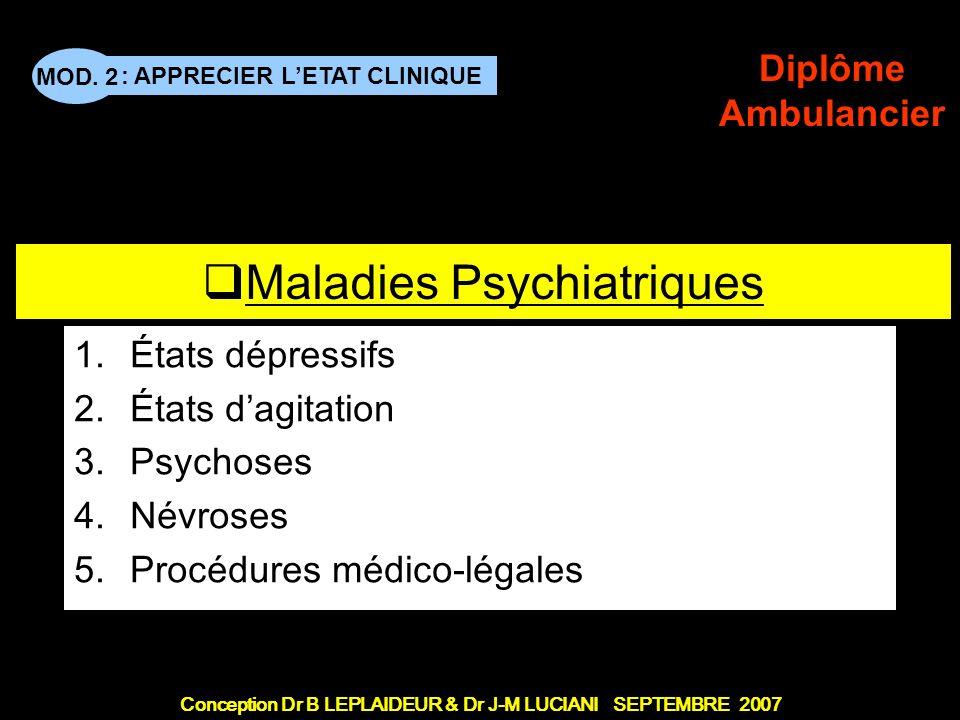 Maladies Psychiatriques