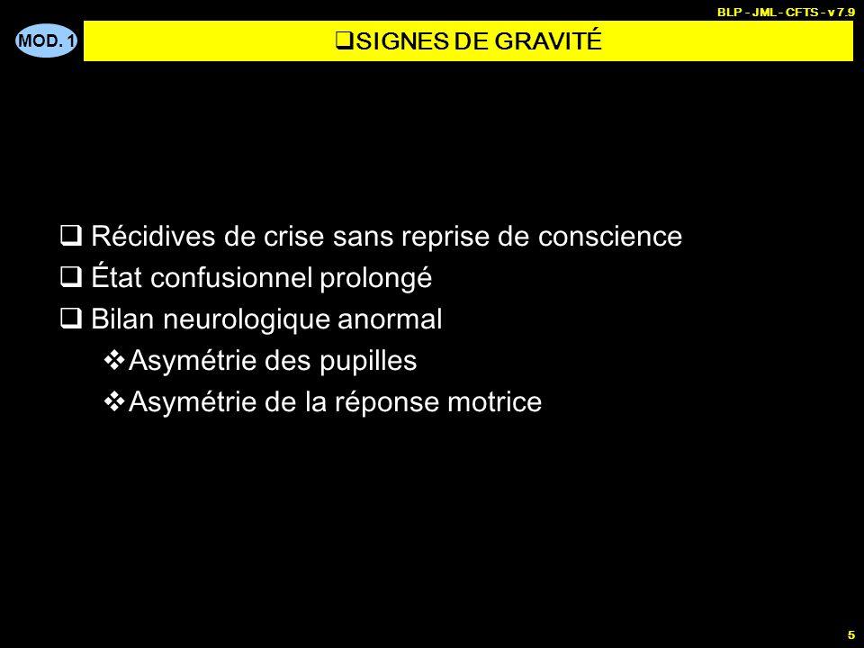 PREMIERES URGENCES 3 - Crise convulsive
