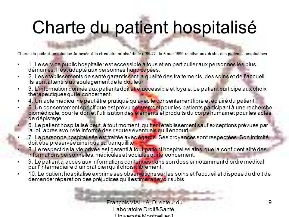 Charte du patient hospitalisé