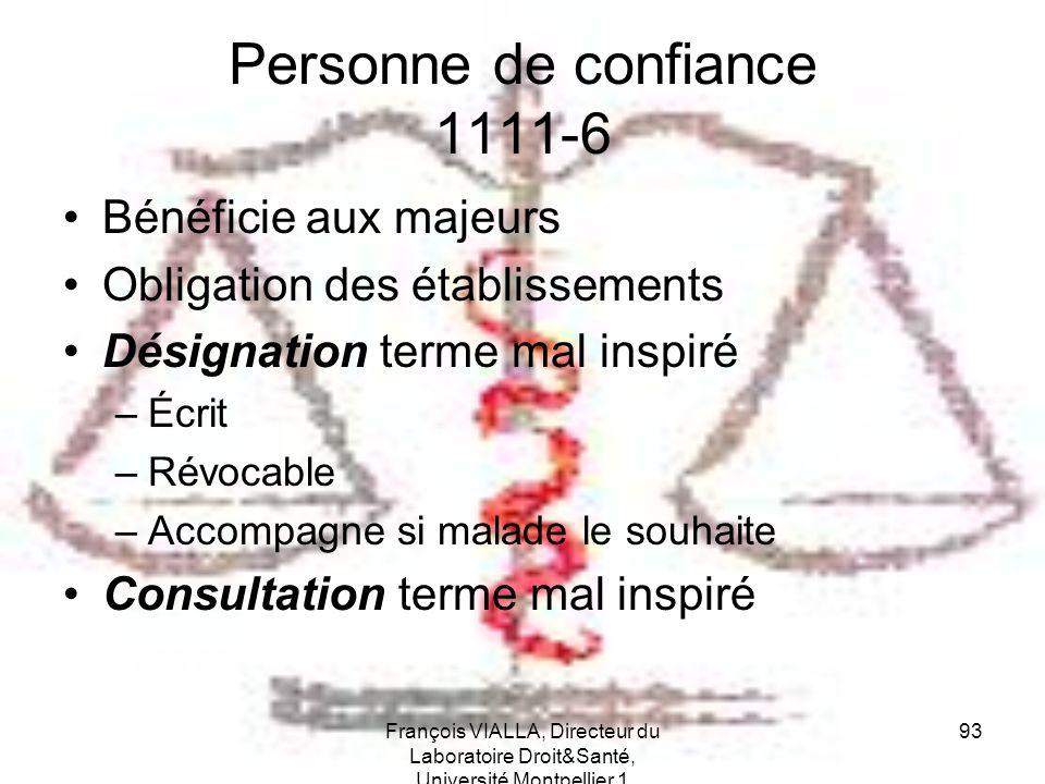 Personne de confiance 1111-6