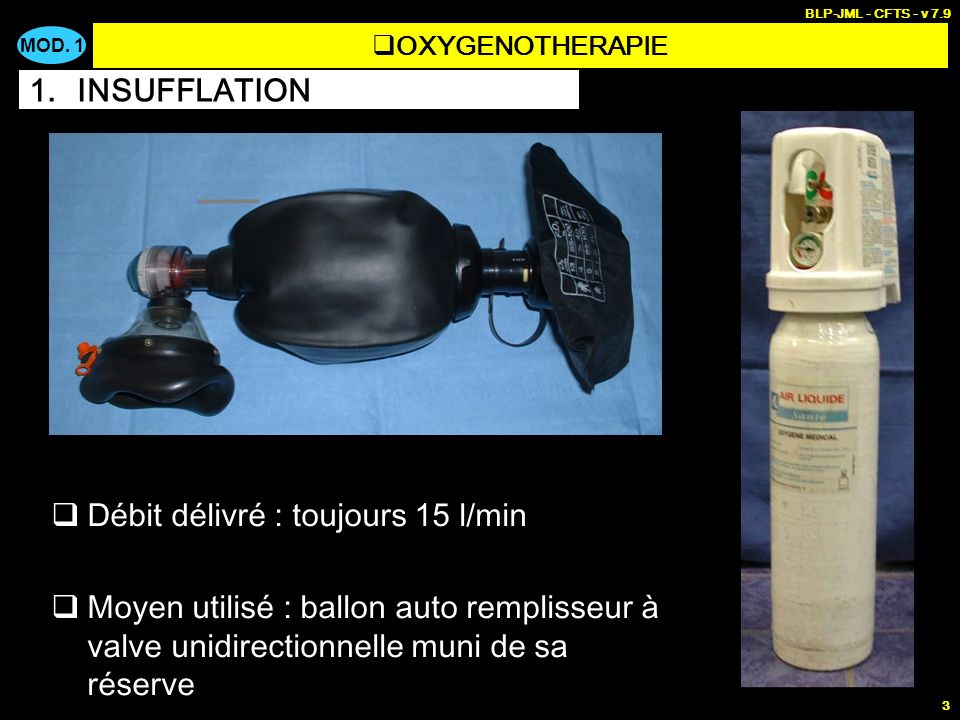 FR < 8 cycles/min : ventilation assistée