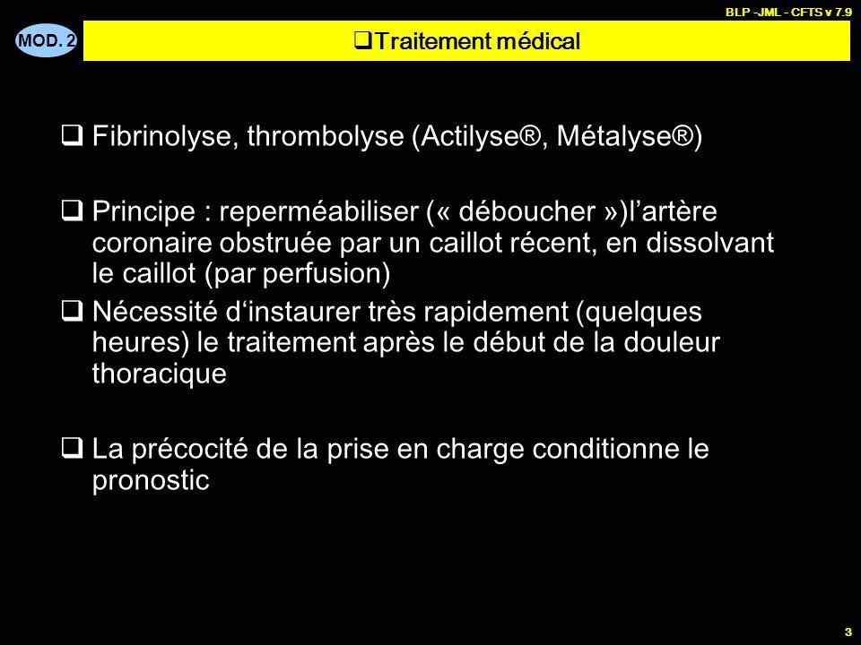 PRISE EN CHARGE DE MALADES - Infarctus du myocarde