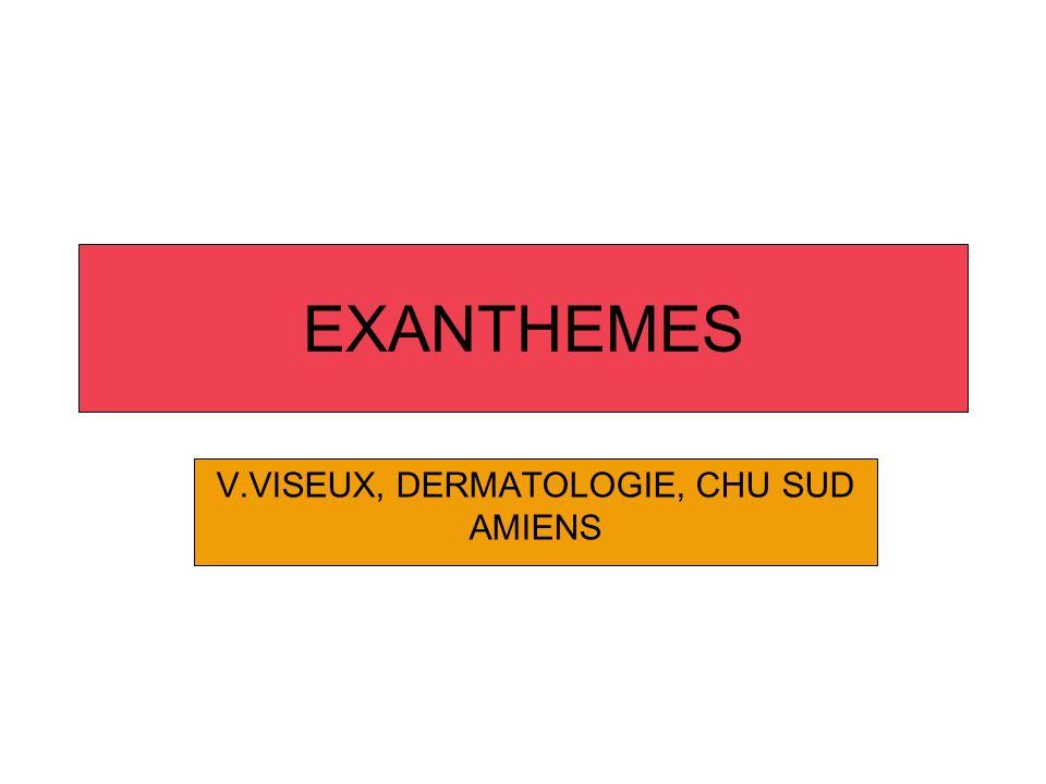 V.VISEUX, DERMATOLOGIE, CHU SUD AMIENS
