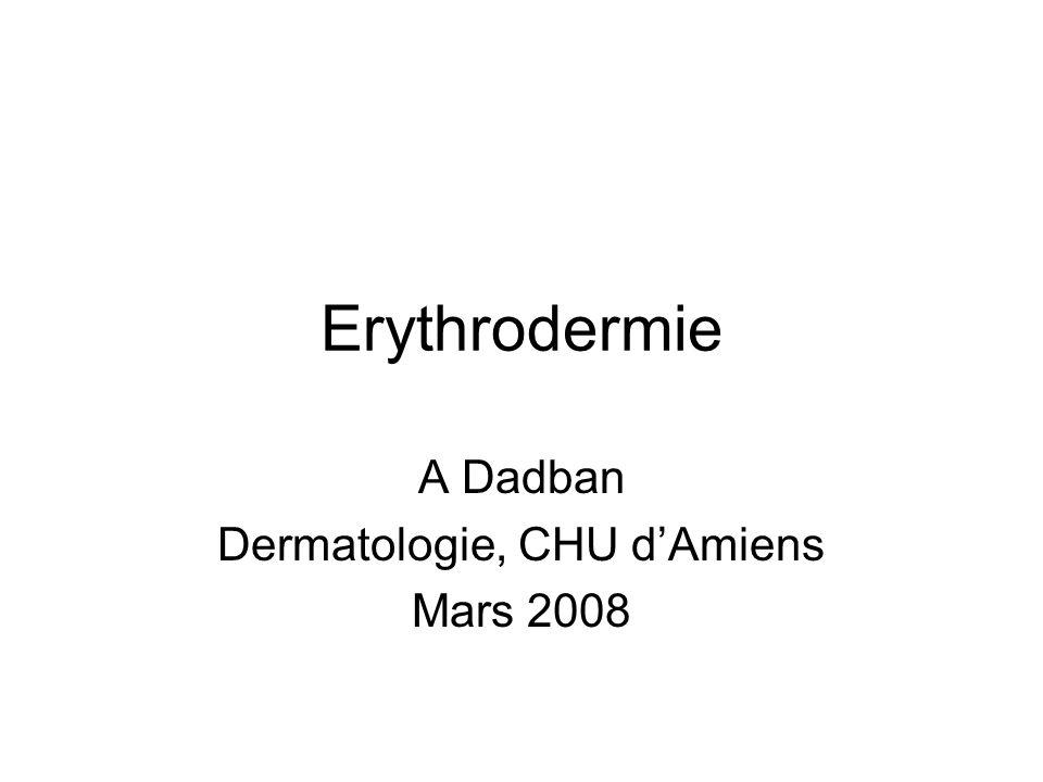 A Dadban Dermatologie, CHU d'Amiens Mars 2008