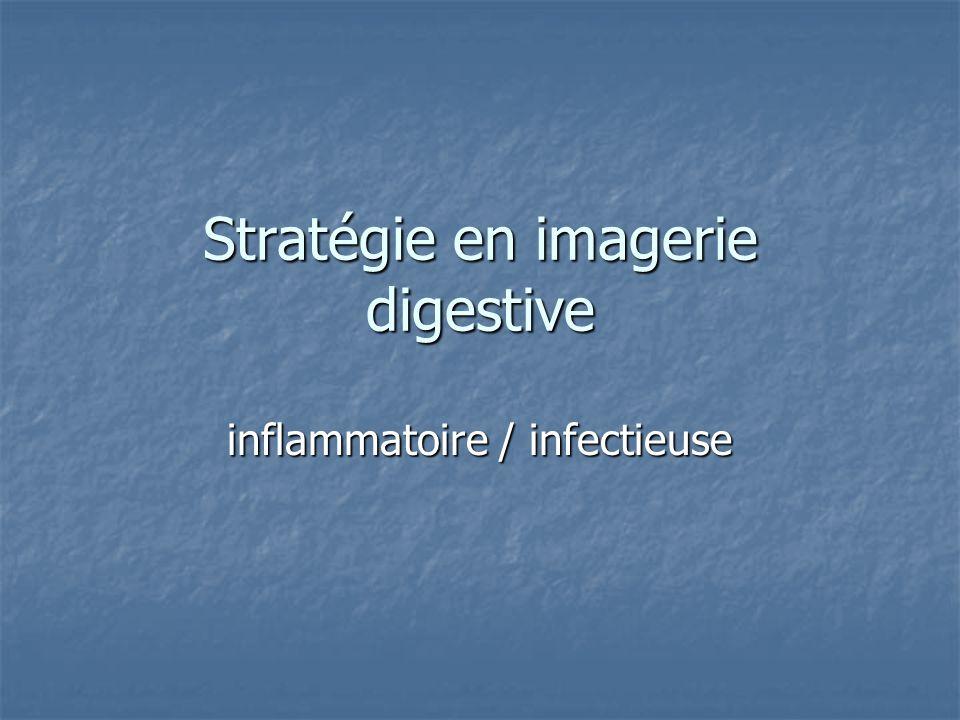 Stratégie en imagerie digestive