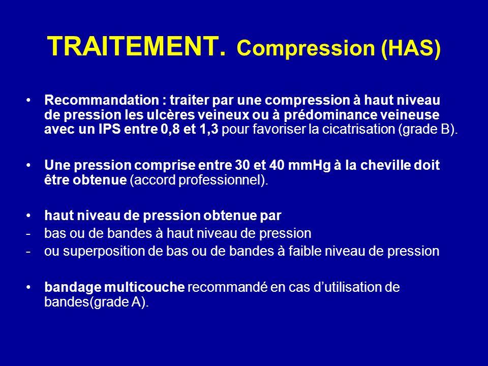 TRAITEMENT. Compression (HAS)