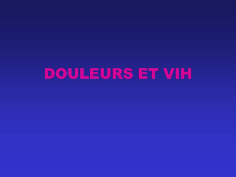 DOULEURS ET VIH
