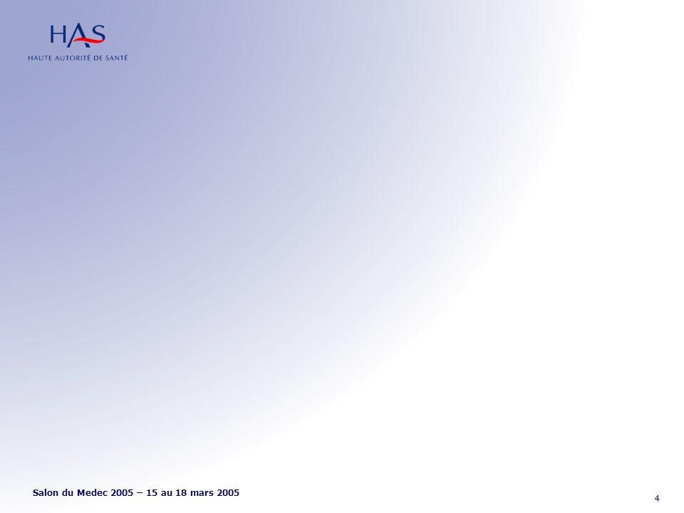 Salon du Medec 2005 – 15 au 18 mars 2005 4