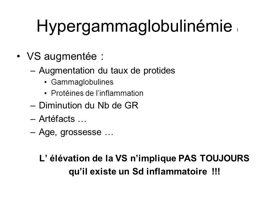 Hypergammaglobulinémie 1