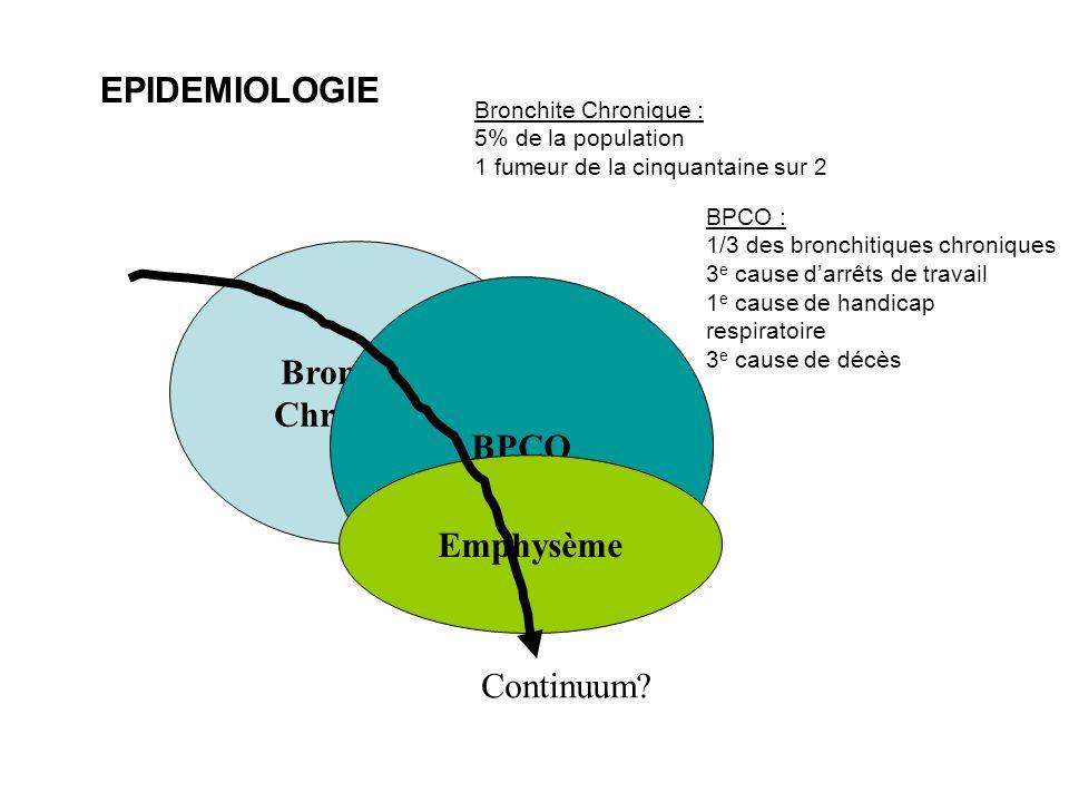 Bronchite Chronique BPCO Emphysème