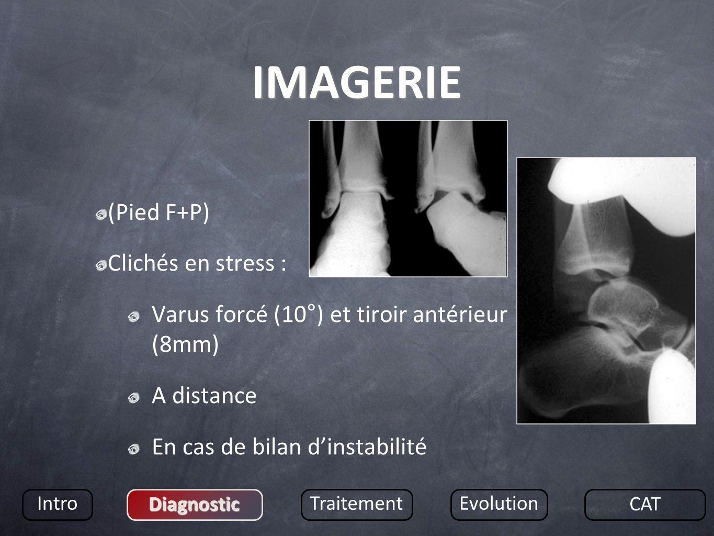 IMAGERIE (Pied F+P) Clichés en stress :
