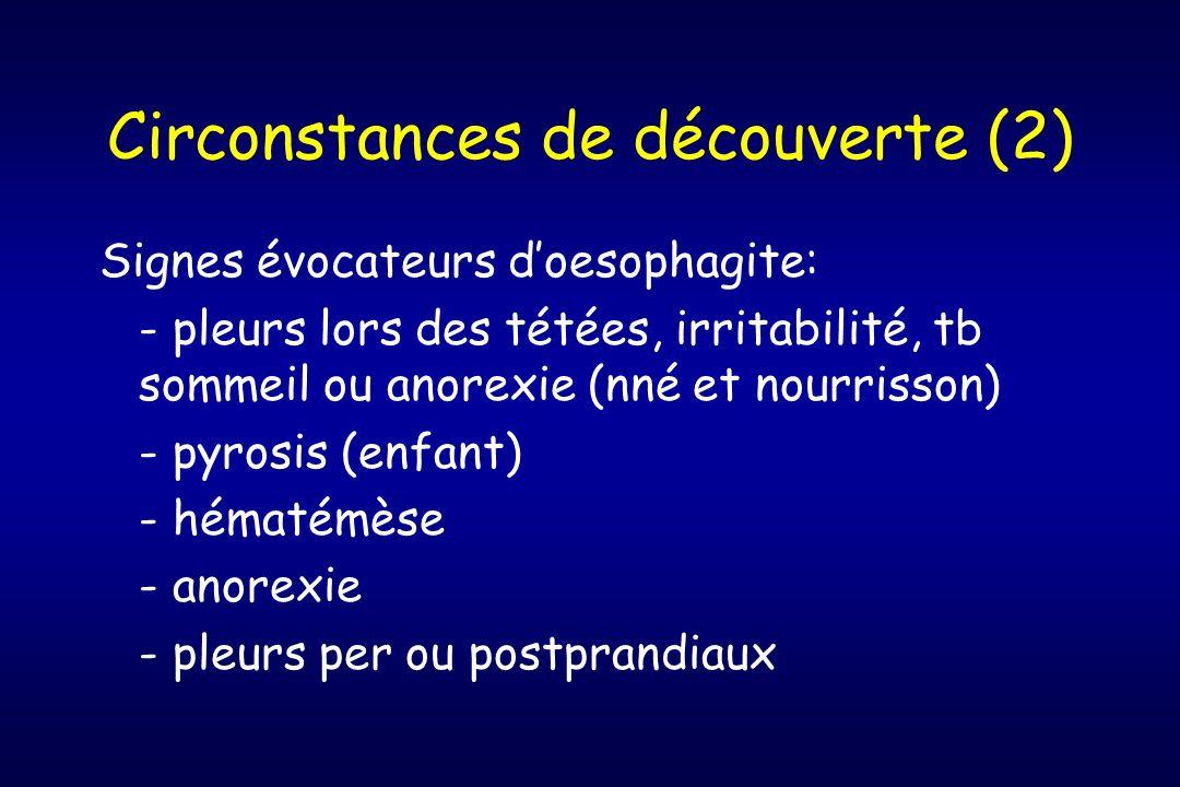 Circonstances de découverte (2)