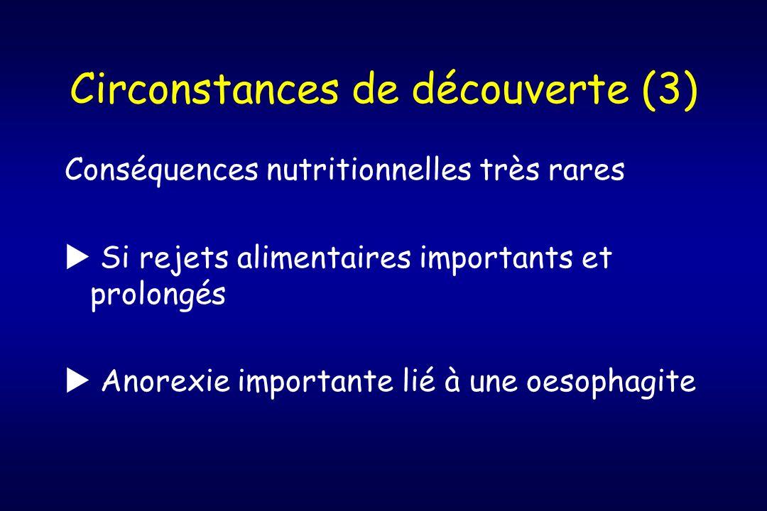 Circonstances de découverte (3)