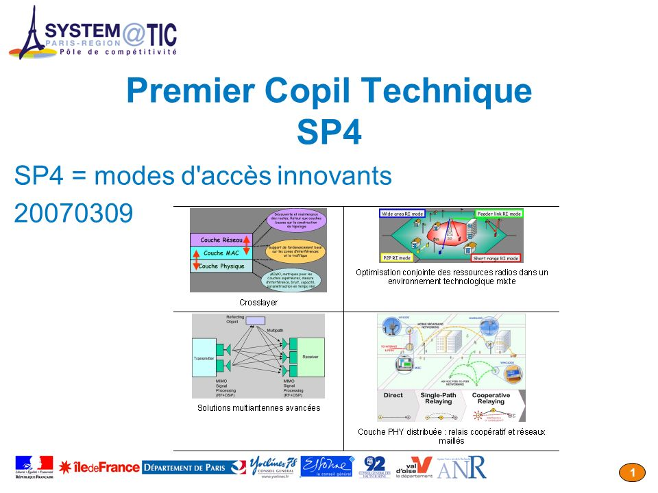 Premier Copil Technique SP4