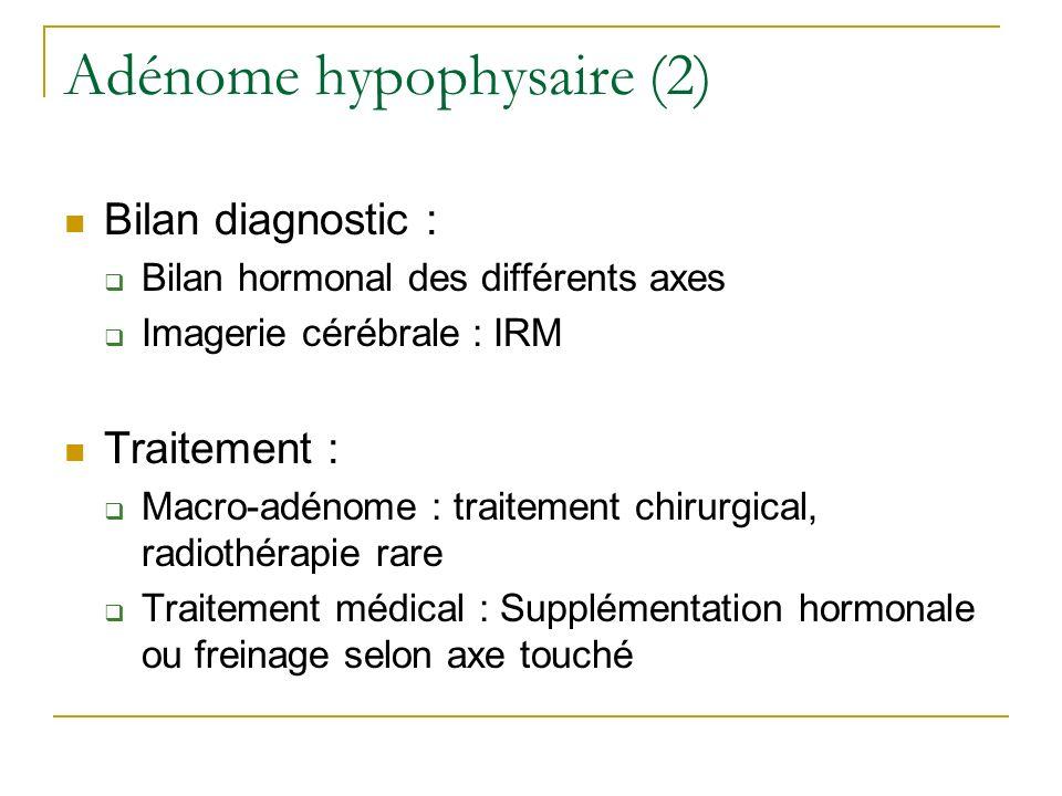 Adénome hypophysaire (2)
