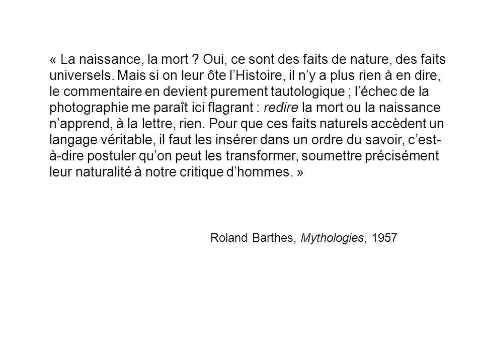 Roland Barthes, Mythologies, 1957