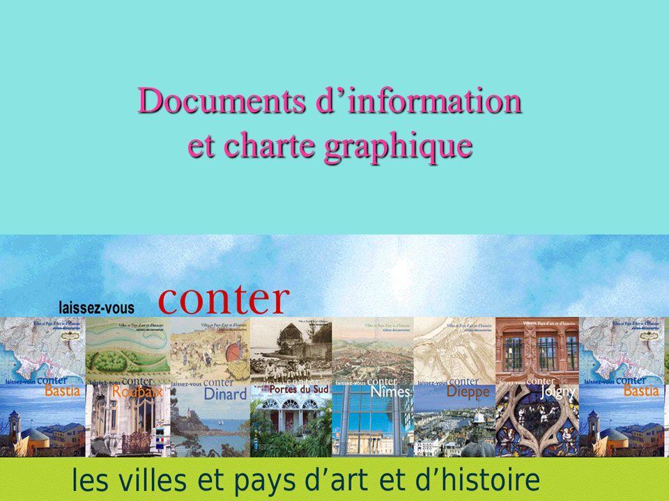 Documents d'information et charte graphique