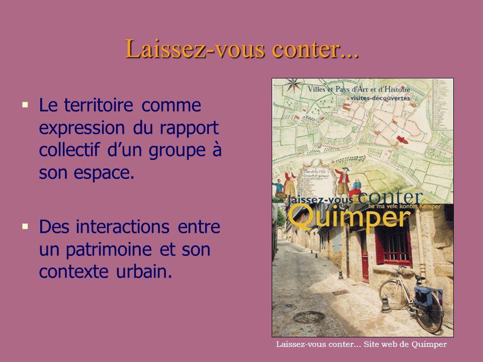 Laissez-vous conter... Site web de Quimper