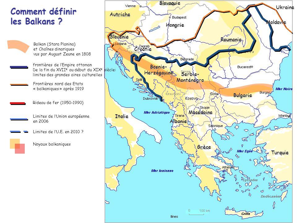 Comment définir les Balkans
