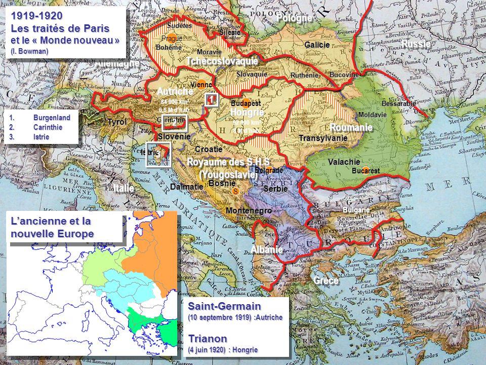 L'ancienne et la nouvelle Europe