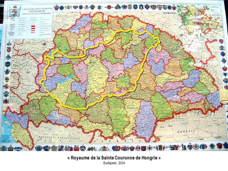 « Royaume de la Sainte Couronne de Hongrie »