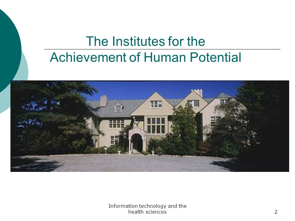 The Institutes for the Achievement of Human Potential