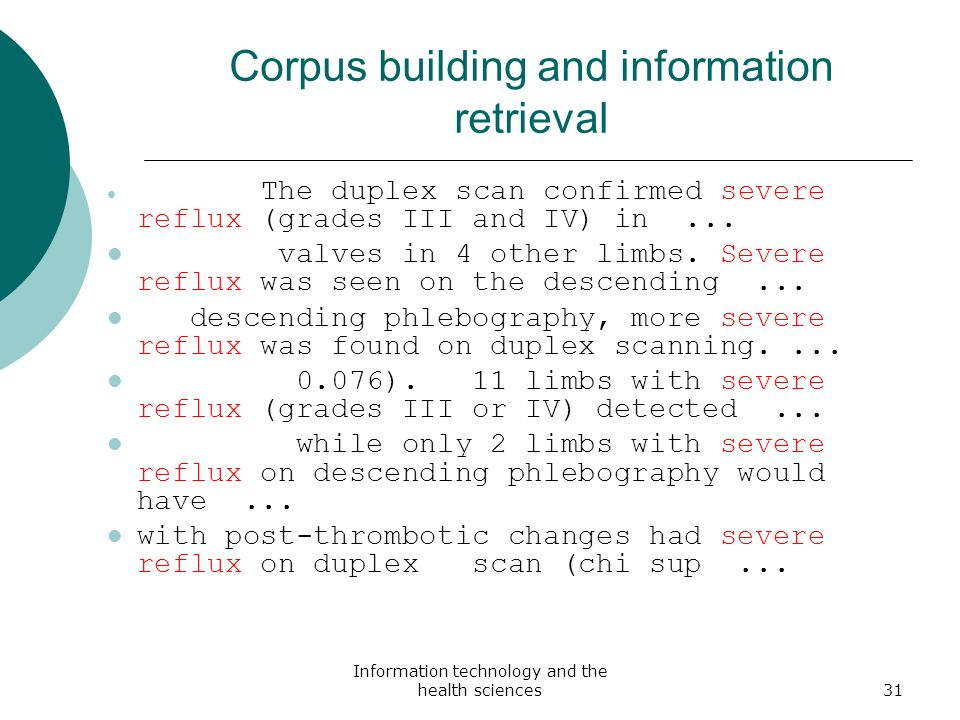 Corpus building and information retrieval