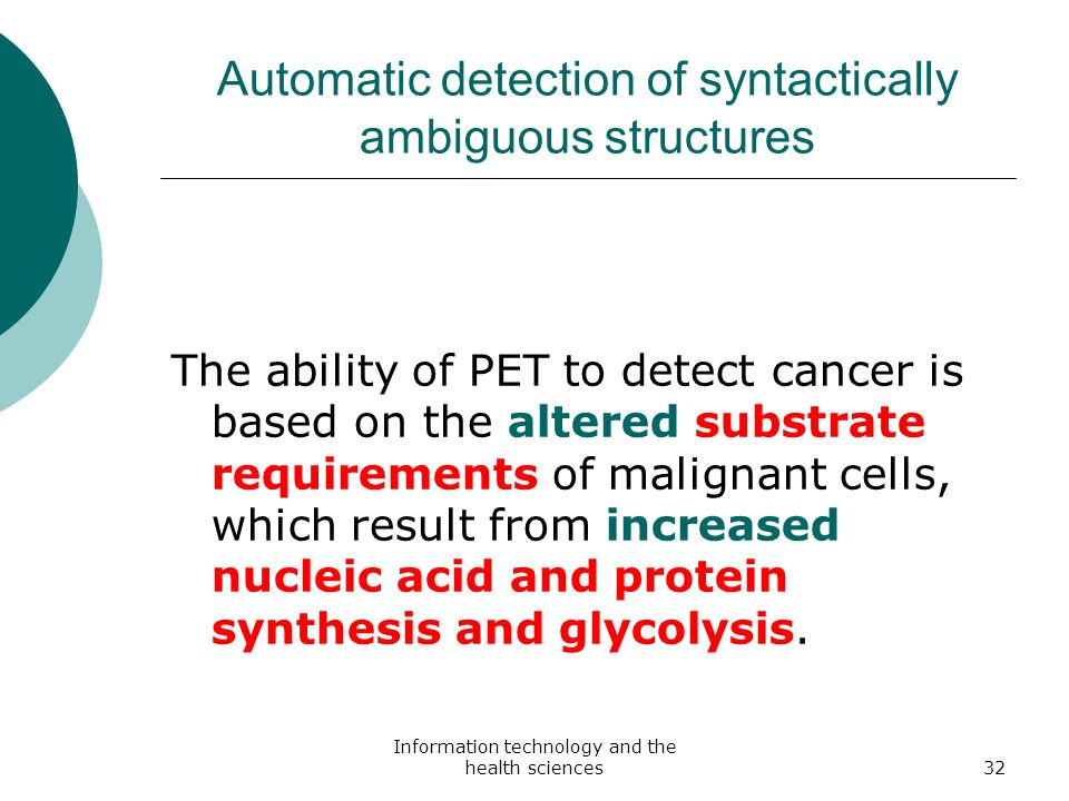 Automatic detection of syntactically ambiguous structures