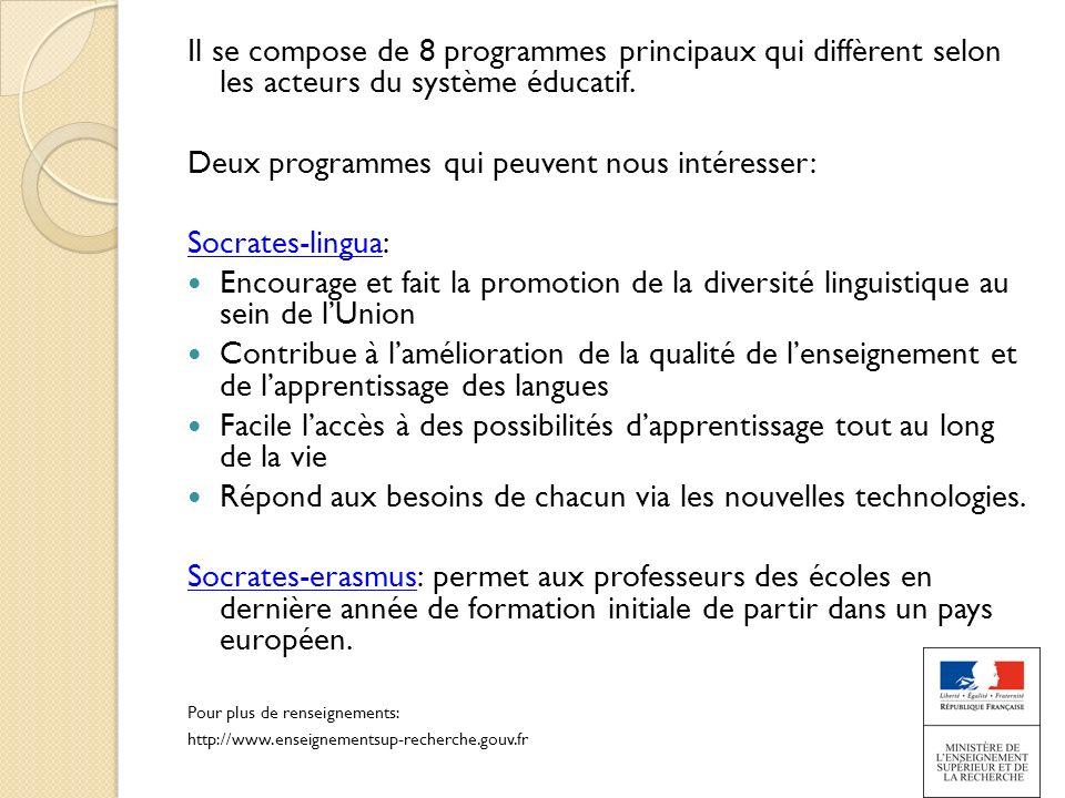 Deux programmes qui peuvent nous intéresser: Socrates-lingua: