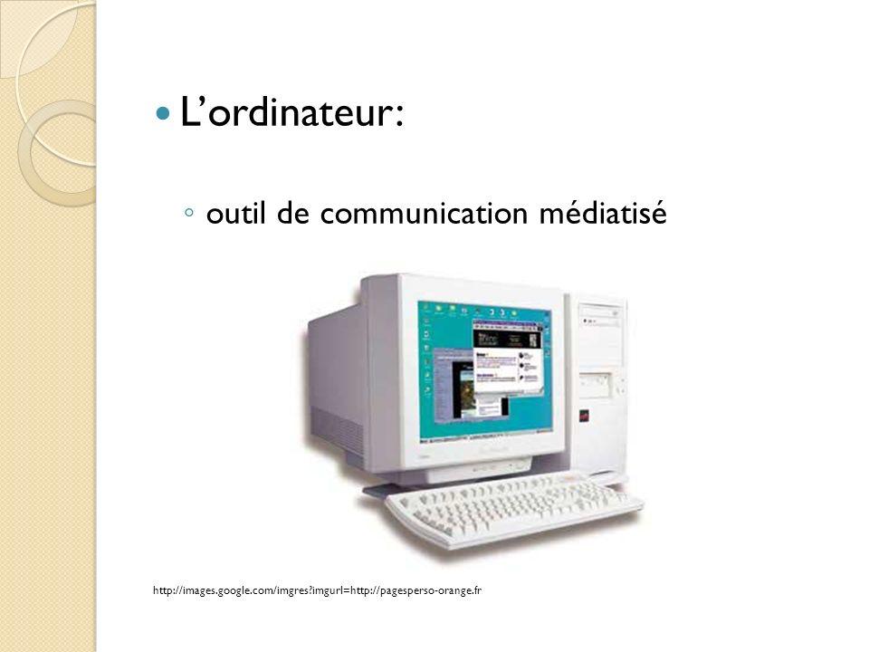 L'ordinateur: outil de communication médiatisé