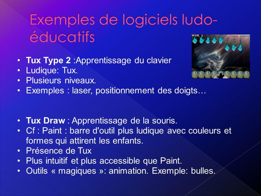 Tux Type 2 :Apprentissage du clavier