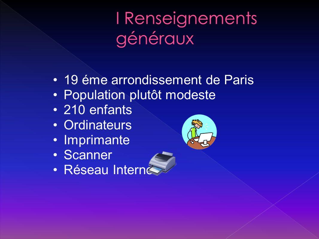 19 éme arrondissement de Paris