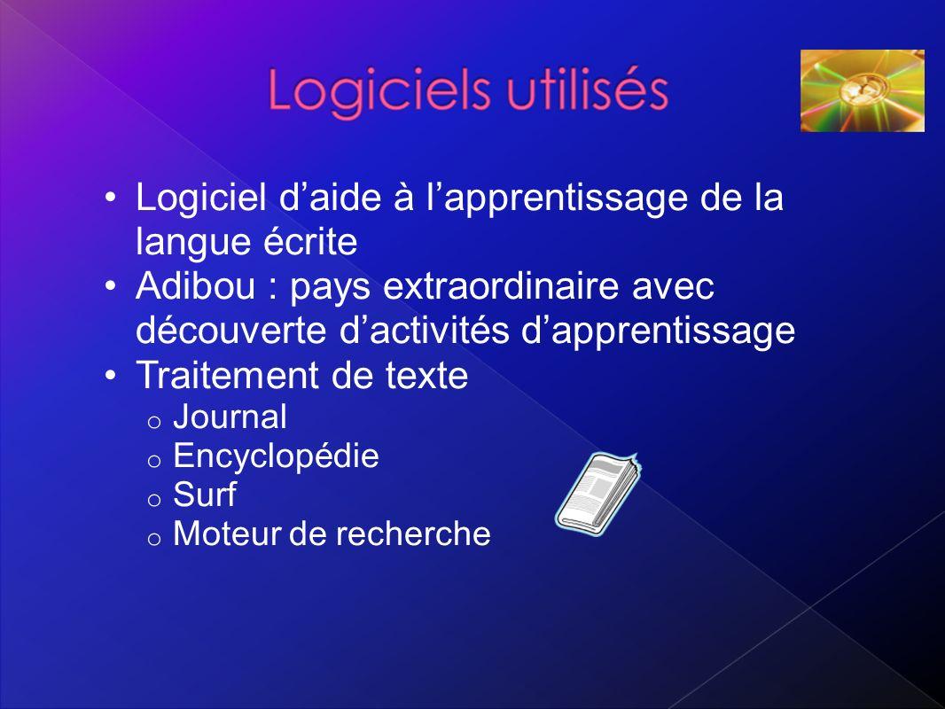 Logiciel d'aide à l'apprentissage de la langue écrite