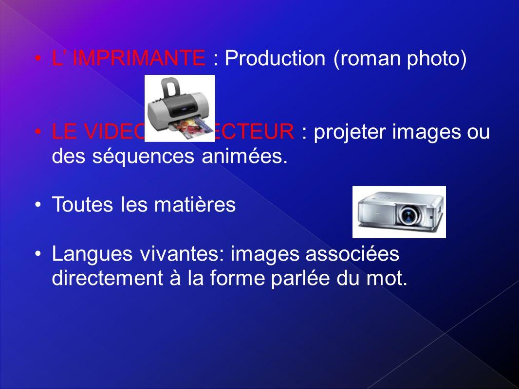 L' IMPRIMANTE : Production (roman photo)