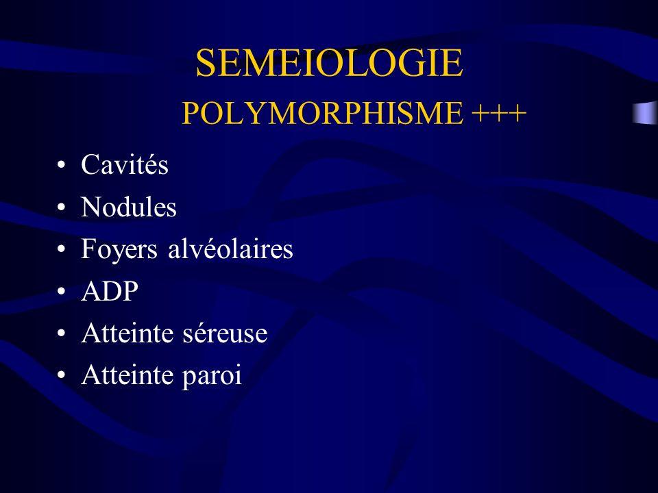 SEMEIOLOGIE POLYMORPHISME +++
