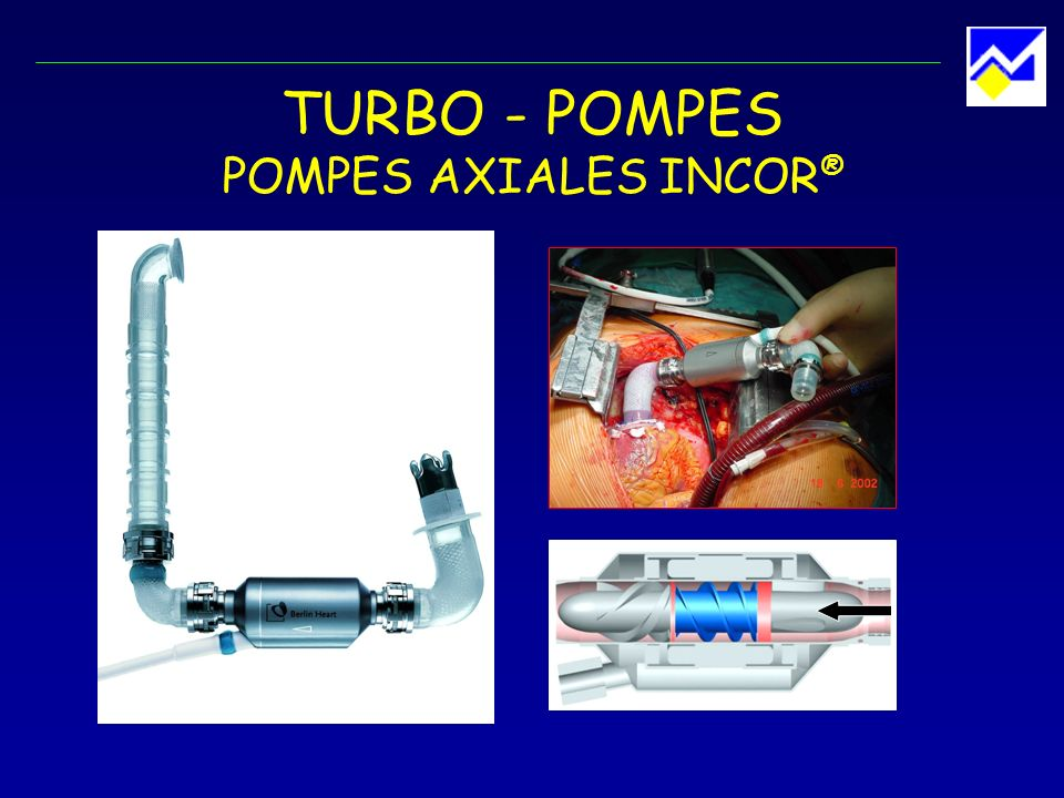 TURBO - POMPES POMPES AXIALES INCOR®